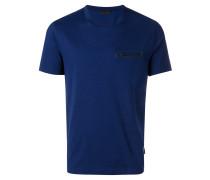 zipped chest pocket T-shirt