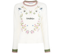 embroidered insect jumper