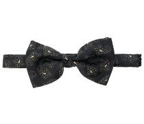 paisley pattern bow tie