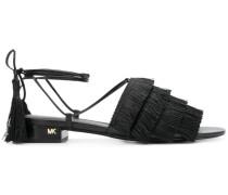 'Gallager' Sandalen mit Fransen