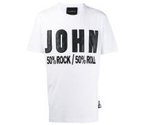 "T-Shirt mit ""John""-Patch"