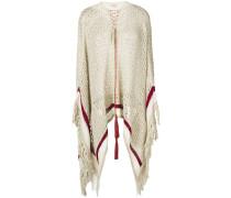 open knit poncho