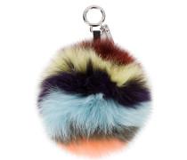 Schlüsselanhänger mit Pompon