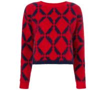 'Argyle' Pullover