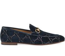 ' Jordaan GG' Samt-Loafer