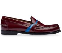 Klassische Loafer mit Logo