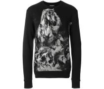 Sweatshirt mit Pferde-Print