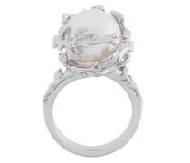 'Fairytale' Silberring mit Perle