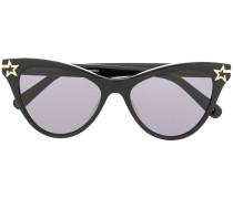cat-eye star sunglasses