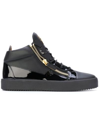 Giuseppe Zanotti Herren 'Kriss' High-Top-Sneakers Großhandel Qualität A9Qb7YR