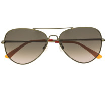 aviator frame sunglasses