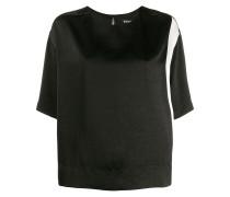 T-Shirt mit monochromem Print