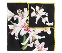 Halstuch mit Lilien-Print