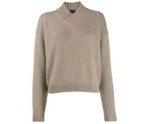 Pullover mit überkreuzten Trägern