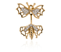 Papillon diamond earring