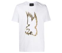 'Hunt' T-Shirt mit Metallic-Print