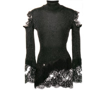 lace knitted sweater