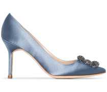 'Hangisi 90' Pumps aus Satin