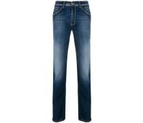 Halbhohe 'Swing' Jeans