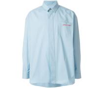 'Petit Pain' Oversized-Hemd