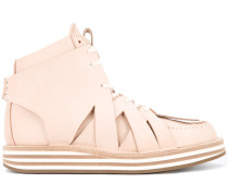High-Top-Sneakers mit Cut-Outs