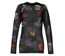 'Death Metal Monster Net' Oberteil