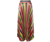 Katz Sunburst pleat skirt