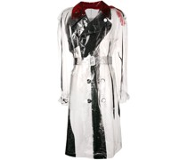 Transparenter Trenchcoat