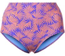 Bikinihöschen mit tropischem Print