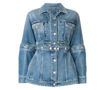 Jeansjacke mit Verzierungen
