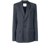 windowpane blazer