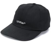 BOOKISH OW BASIC BASEBALL CAP BLACK WHIT