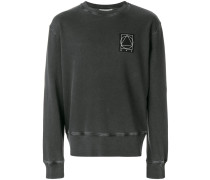 glyph icon patch sweatshirt