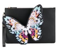 Clutch mit Schmetterlings-Applikation