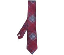 Krawatte mit Karomuster
