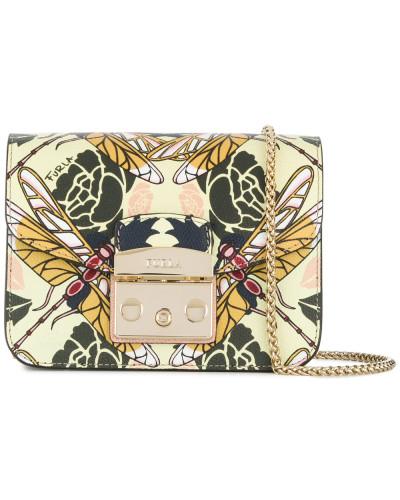 Furla Damen Metropolis dragonfly print shoulder bag Besuchen Verkauf Online g9GSGai