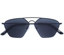 Matte Pilotenbrille