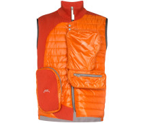 A-Cold-Wall* panelled multi-pocket gilet