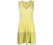 Gestreiftes Metallic-Kleid