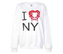 """Sweatshirt mit """"I Heart NY""""-Print"""