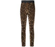 Leggings mit Leopard-Print