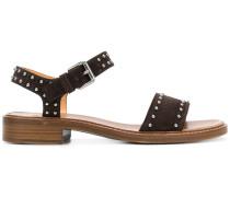 Sandalen mit runden Nieten