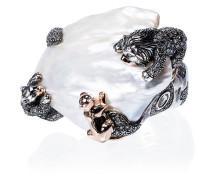 18k rose gold Animal Family Lion ring