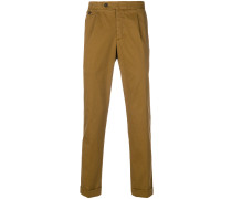 cuff tapered trousers