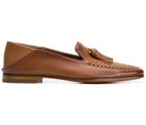 tassel detail slippers