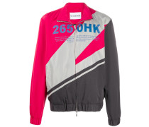 Regenjacke in Colour-Block-Optik