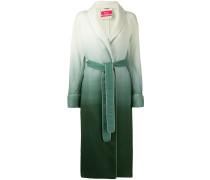 Langer Mantel mit Farbverlauf