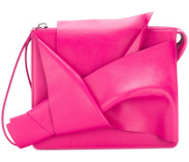 abstract bow clutch bag