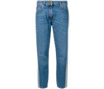 Jeans mit Kontraststreifen