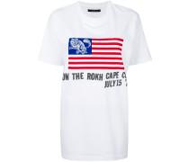 T-Shirt mit USA-Flagge